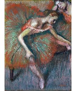 Edgar Degas, Sitzende Tänzerin. Um 1899