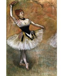 Edgar Degas, Tänzerin mit Tambourin. Um 1882