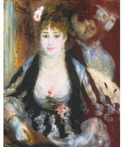 Auguste Renoir, In der Loge. 1874
