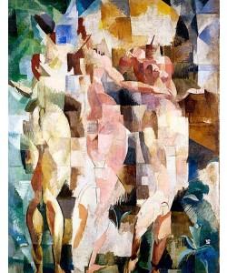 Robert Delaunay, Die drei Grazien. 1912