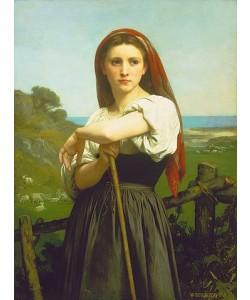 William Adolphe Bouguereau, Die Hirtin. 1868