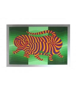 Vasarely Victor Panther (30) (Siebdruck, handsigniert, nummeriert)