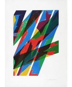 Dorazio Piero Contrario (1970) (Lithographie, handsigniert, nummeriert)