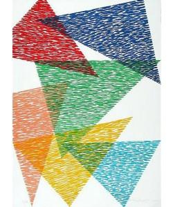 Dorazio Piero Vis-A-Vis (1991) (Lithographie, handsigniert, nummeriert)