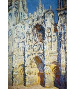 Claude Monet, Portal der Kathedrale von Rouen mit Turm Saint-Romain in voller Sonne. 1893.