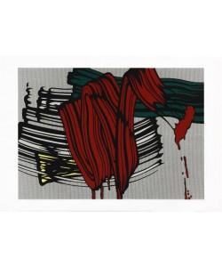 Lichtenstein Roy Big Painting No. 6 (2000) (Siebdruck)