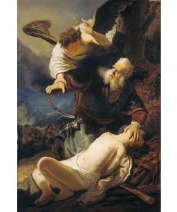 Rembrandt van Rijn, Die Opferung Isaaks. 1636