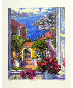 Askins Julian Window I (2000) (Siebdruck, handsigniert)