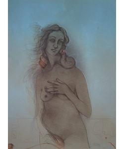 Bruni Bruno La Nascita della Venere I (30) (Lithographie, handsigniert, nummeriert)