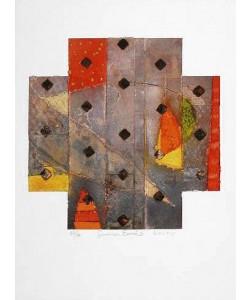 Koury Aleah Summer Earth II (2001) (Siebdruck, handsigniert)