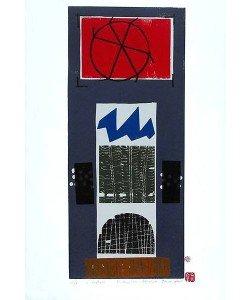 Haas Bruno Fensterplatz (Holzdruck, handsigniert)
