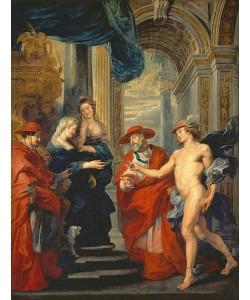Peter Paul Rubens, Medici-Zyklus: Der Vertrag von Angouleme 30.04.1619.