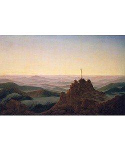 Caspar David Friedrich, Morgen im Riesengebirge. Um 1810