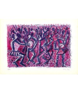 Bargheer Eduard Ohne Titel IV (Lithographie, handsigniert)