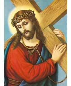 Anonym, KREUZTRAGENDER CHRISTUS