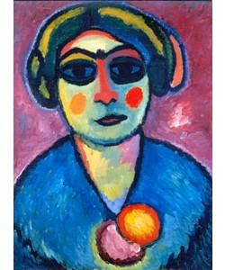 Alexej von Jawlensky, Dunkle Augen. 1912