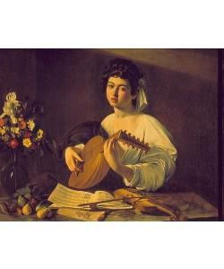 Michelangelo Merisi da Caravaggio, Junger Lautenspieler. Um 1595