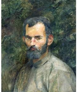 Henri de Toulouse-Lautrec, Bildnis eines bärtigen Mannes. 1883