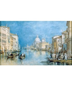 Joseph Mallord William Turner, Venedig, Canale Grande.