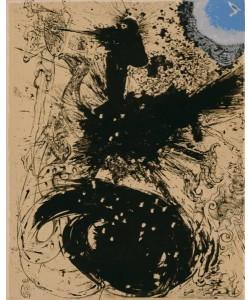 Dali Salvador Don Quichotte 1004Schimaere (30) (Lithographie, drucksigniert)