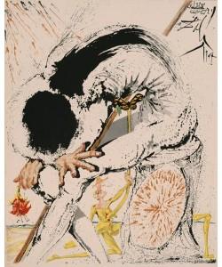 Dali Salvador Don Quichotte 1007 Metamorphose (30) (Lithographie, drucksigniert)