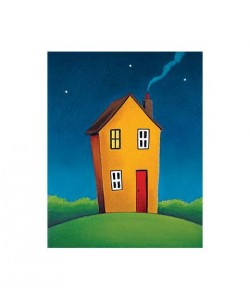 Horton Paul No Place like Home II (Siebdruck, handsigniert)