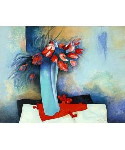 Gaveau Claude Fleur e Cerise (Lithographie, handsigniert)
