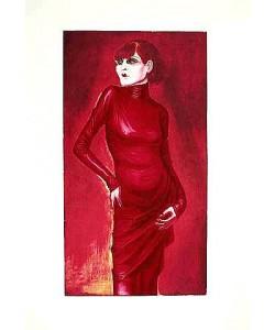Dix Otto Bildnis der Tänzerin Anita Berber, 1925 (Frequenzmodulierte Rastertechnik)