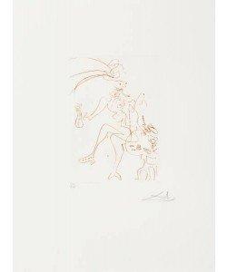 Dali Salvador Shakespeare I, Kaufmann von Venedig WVZ 271 (30) (Radierung, handsigniert, nummeriert)