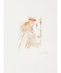 Dali Salvador Shakespeare I, König Lear WVZ 281 (30) (Radierung, handsigniert, nummeriert)