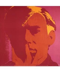 AuBergewohnlich Andy Warhol, Selbstbildnis Rot