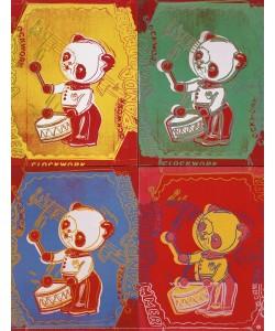 Andy Warhol, Kinderspielzeug Panda