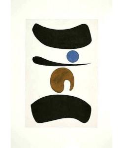 Baumeister Willi Tori mit blauem Punkt, 1937 (Frequenzmodulierte Rastertechnik)