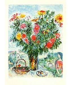 Chagall Marc Der grosse Blumenstrauss, steinsig. (Lithographie, nummeriert)