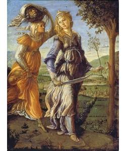 Sandro Botticelli, Die Rückkehr der Judith mit dem Haupt des Holofernes.