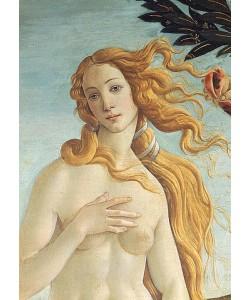 """Sandro Botticelli, """"""""Detail aus dem Gemälde """"""""""""""""Geburt der Venus"""""""""""""""": Kopf der Venus."""""""""""""""""""