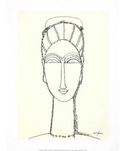 Amedeo Modigliani, Female Face