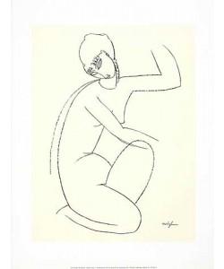 Amedeo Modigliani, Nude Study 1