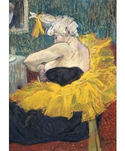 Henri de Toulouse-Lautrec, Die Clownesse Cha-U-Kao. 1895.