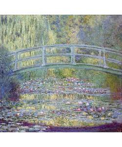 Claude Monet, Seerosenteich und japanische Brücke. 1899