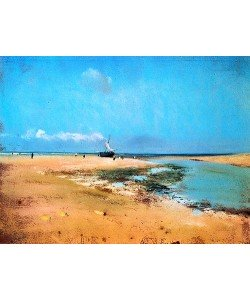 Edgar Degas, Strand bei Ebbe. 1869