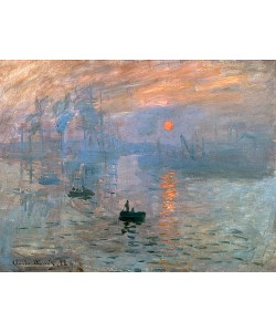 Claude Monet, Impression (Sonnenaufgang). 1872