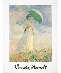 Claude Monet, Donna con parasole II