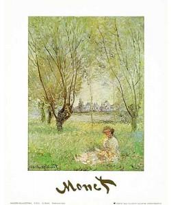 Claude Monet, Frau unter Bäumen