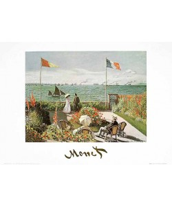 Claude Monet, Terrazza sul mare a Saint-Adresse