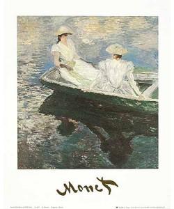 Claude Monet, Ragazze in barca