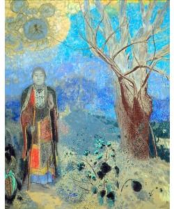 Odilon Redon, Der Buddha. Um 1905.