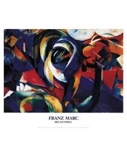 Franz Marc, Der Mandrill, 1912