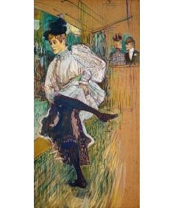 Henri de Toulouse-Lautrec, Jane Avril tanzend. 1891.
