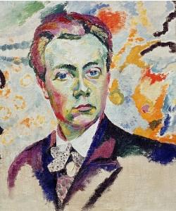 Robert Delaunay, Selbstbildnis. 1905-06
